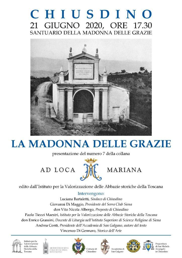 Ad Loca Mariana: il santuario della Madonna delle Grazie